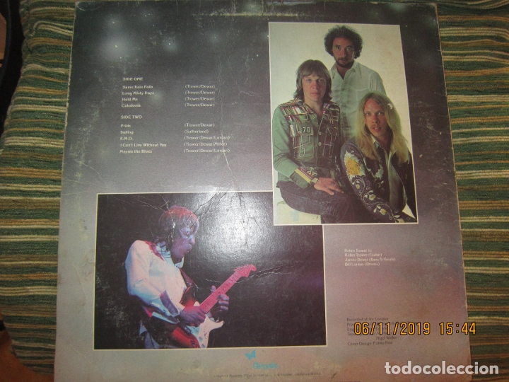Discos de vinilo: ROBIN TROWER - LONG MISTY DAYS LP - ORIGINAL U.S.A. - CHRYSALIS RECORDS 1976 - GREEN LABEL - - Foto 18 - 182644116