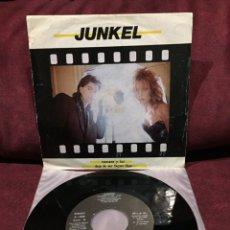 """Discos de vinilo: JUNKEL - CAMARA Y LUZ/DEJA DE SER SUPER-STAR, SINGLE 7"""", 1983, ESPAÑA. Lote 182644407"""
