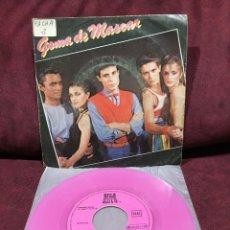 """Discos de vinilo: GOMA DE MASCAR - GOMA DE MASCAR, SINGLE 7"""", 1979, ESPAÑA. Lote 182645478"""