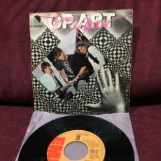 "Discos de vinilo: GOMA DE MASCAR - OP-ART/ÁNGEL O DIABLO, SINGLE 7"", 1980, ESPAÑA. Lote 182645695"