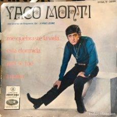 Discos de vinilo: EP ARGENTINO DE YACO MONTI AÑO 1968. Lote 112573379