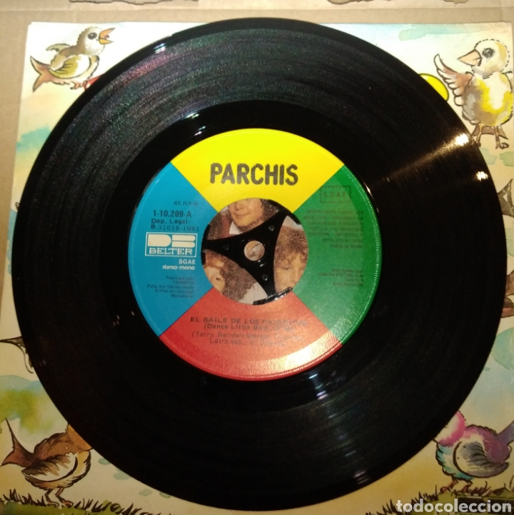 Discos de vinilo: Parchís - El baile de los pajaritos - Foto 2 - 182658660