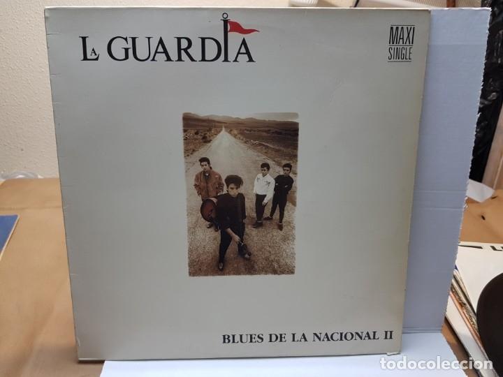 MAXI SINGLE -LA GUARDIA-BLUES DE LA NACIONAL II 1989 EN FUNDA ORIGINAL (Música - Discos - LP Vinilo - Grupos Españoles de los 70 y 80)