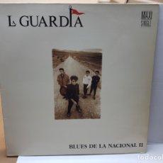 Discos de vinilo: MAXI SINGLE -LA GUARDIA-BLUES DE LA NACIONAL II 1989 EN FUNDA ORIGINAL . Lote 182659465