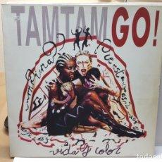 Discos de vinilo: LP -TAM TAM GO -VIDA Y COLOR 1992 EN FUNDA ORIGINAL . Lote 182659652
