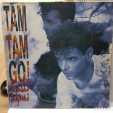 Discos de vinilo: LP -TAM TAM GO -ESPALDAS MOJADAS 1990 EN FUNDA ORIGINAL . Lote 182659808