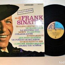 Discos de vinilo: FRANK SINATRA, LO MEJOR DE SINATRA - LP REPRISE HRES 291-13 ESPAÑA 1968 EX/EX. Lote 182661936