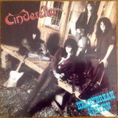 Discos de vinilo: CINDERELLA - HEARTBREAK STATION. Lote 182665971