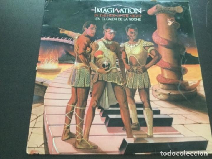 IMAGINATION - IN THE HEAT OF THE NIGHT (Música - Discos - LP Vinilo - Disco y Dance)