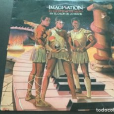 Discos de vinilo: IMAGINATION - IN THE HEAT OF THE NIGHT . Lote 182668406