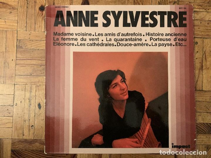 ANNE SYLVESTRE ?– ANNE SYLVESTRE SELLO: IMPACT (2) ?– 6371 125 FORMATO: VINYL, LP, COMPILATION (Música - Discos - LP Vinilo - Canción Francesa e Italiana)