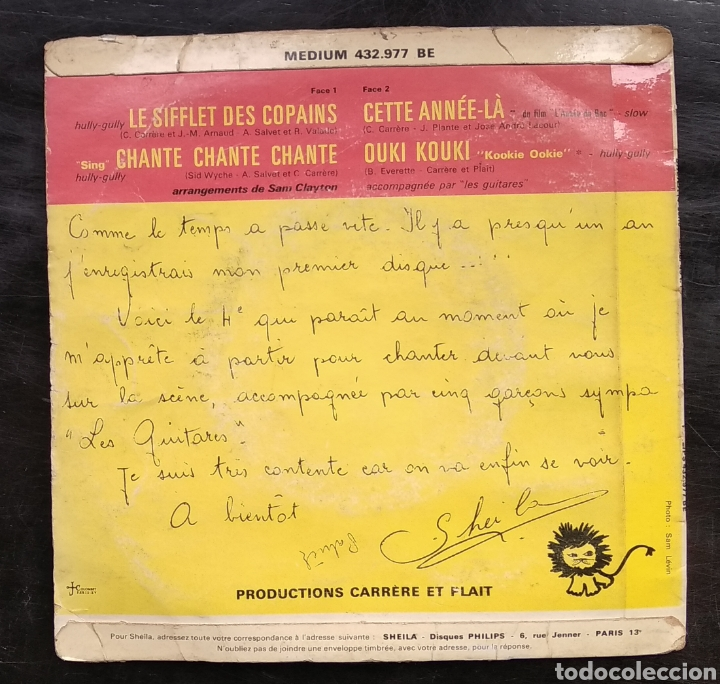 Discos de vinilo: SHEILA,,,LOTE DE EPs - Foto 6 - 182673062