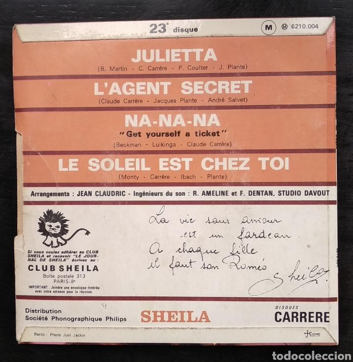 Discos de vinilo: SHEILA,,,LOTE DE EPs - Foto 25 - 182673062