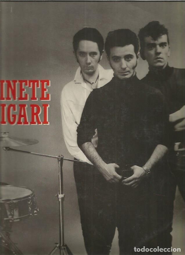 GABINETE CALIGARI CUATRO ROSAS (Música - Discos - LP Vinilo - Grupos Españoles de los 70 y 80)