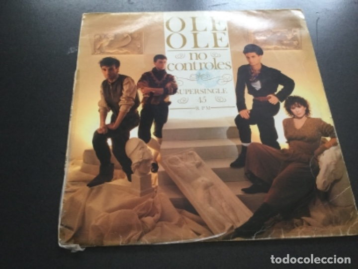 OLE OLE - NO CONTROLES (Música - Discos de Vinilo - Maxi Singles - Grupos Españoles de los 70 y 80)