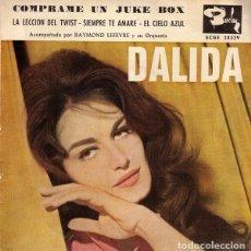 Discos de vinilo: SINGLE 7'' DALIDA - COMPRAME UN JUKE BOX. Lote 182675076