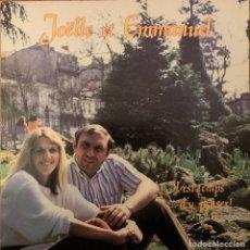 Discos de vinilo: JOELLE ET EMMANUEL ORTET – IL EST TEMPS D'Y PENSER ! SELLO: SACEM – 61249 FORMATO: VINYL, LP . Lote 182676017