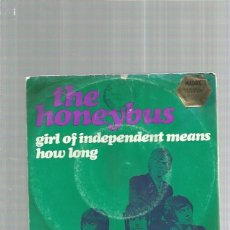 Discos de vinilo: HONEYBUS GIRL OF INDEPENDENT + REGALO SORPRESA. Lote 182676593