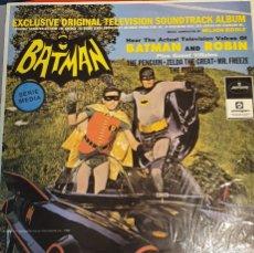 Discos de vinilo: BATMAN BSO SERIE DE TELEVISIÓN VINTAGE. Lote 182677802