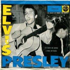 Discos de vinilo: SINGLE ELVIS PRESLEY – IT'S NOW OR NEVER. Lote 182678695