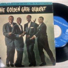 Discos de vinilo: THE GOLDEN GATE QUARTET -DOWN BY THE RIVER SIDE -EP 1960. Lote 182680387