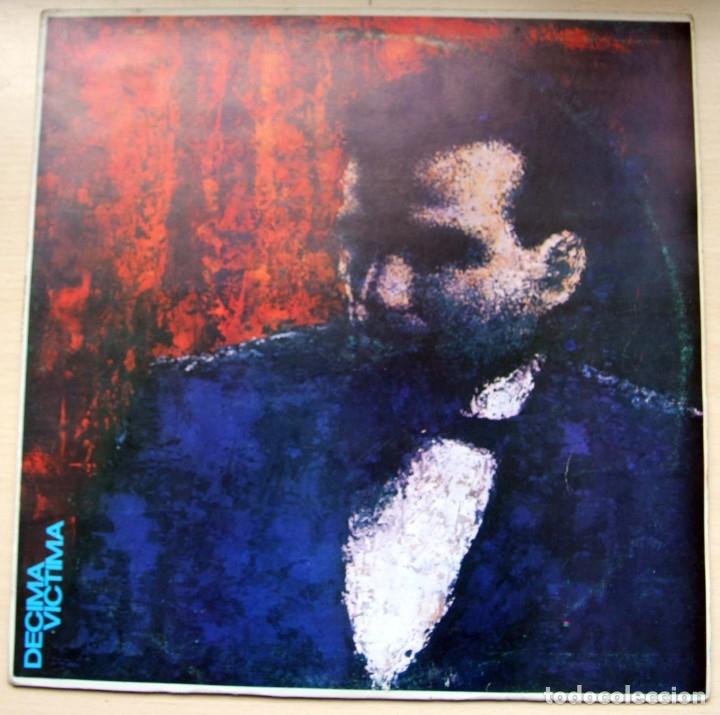 DECIMA VICTIMA - MAXI UN LUGAR EN EL PASADO - GRABACIONES ACCIDENTALES (Música - Discos de Vinilo - Maxi Singles - Grupos Españoles de los 70 y 80)