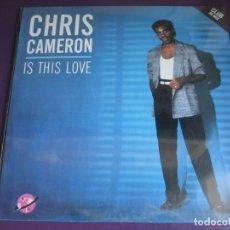 Discos de vinilo: CHRIS CAMERON MAXI SINGLE KEY 1985 PRECINTADO - IS THIS LOVE - FUNK SOUL DISCO. Lote 182682576
