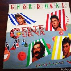 Discos de vinilo: CANTORES DE HISPALIS. GENTE GUENA. SEVILLANAS 87. Lote 182682896