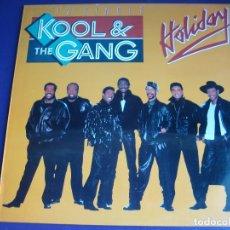 Discos de vinilo: KOOL & THE GANG MAXI SINGLE MERCURY 1987 - HOLIDAY - FUNK SOUL DISCO SIN ESTRENAR. Lote 182684263