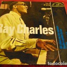 Discos de vinilo: RAY CHARLES - MI CHICA NO ME CONOCE + 3 - EP. Lote 182685005