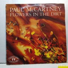 Discos de vinilo: LP-PAUL MCCARTNEY- FLOWERS IN THE DIRT EN FUNDA ORIGINAL 1989. Lote 182686807