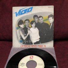 """Discos de vinilo: VIDEO - LA NOCHE NO ES PARA MI, SINGLE 7"""", 1983, ESPAÑA. Lote 182687105"""
