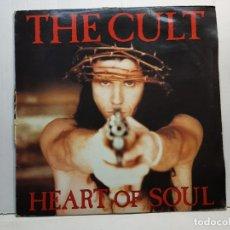 Discos de vinilo: LP-THE CULT- HEART OF SOUL EN FUNDA ORIGINAL 1992 EDICIÓN LIMITADA Y NUMERADA . Lote 182687312