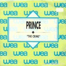 Discos de vinilo: SINGLE 7'' PROMO PRINCE – THE CRIME. Lote 182687615