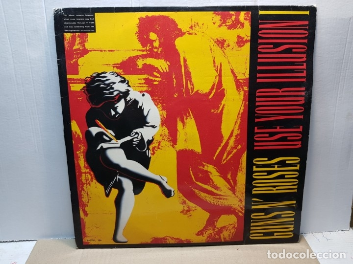 DOBLE LP-GUNS N'ROSES- USE YOUR ILLUSION IEN FUNDA ORIGINAL 1991 (Música - Discos - LP Vinilo - Pop - Rock Extranjero de los 90 a la actualidad)