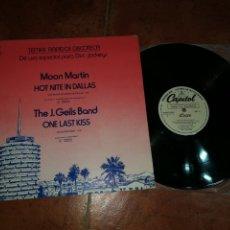 Discos de vinilo: MINK DE VILLE BOB SEGER THE J. GEILS BAND MOON MARTIN MAXI SINGLE PROMO 1979 ESPAÑA MUY RARO. Lote 182688545
