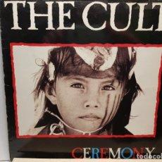 Discos de vinilo: LP-THE CULT- CEREMONY EN FUNDA ORIGINAL 1991 . Lote 182688766