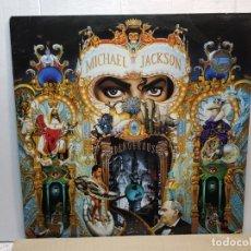 Discos de vinilo: DOBLE LP- MICHAEL JACKSON-DANGEROUS EN FUNDA ORIGINAL 1991. Lote 182689037