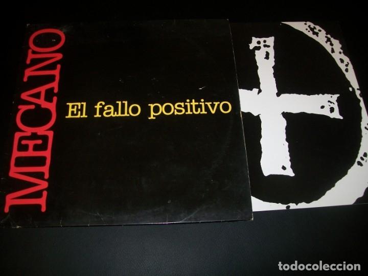 MECANO - EL FALLO POSITIVO - EDICION EXTENDED MAXISINGLE CON LIBRETO - ARIOLA- 1992 - MUY DIFICIL (Música - Discos de Vinilo - Maxi Singles - Pop - Rock Extranjero de los 90 a la actualidad)