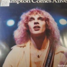 Disques de vinyle: PETER FRAMPTON COMES ALIVE DOBLE LP. Lote 182690653