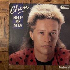 Discos de vinilo: CHEN – HELP ME NOW SELLO: CBS – CBS 651024 6 FORMATO: VINYL, 12 , 45 RPM PAÍS: FRANCE . Lote 182694270