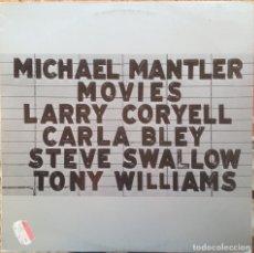 Discos de vinilo: MICHAEL MANTLER - MOVIES - LP - 1980 WATT/ECM/EDIGSA - WATT 7 11-0051 E. Lote 182696123