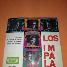 Discos de vinilo: LOS IMPALA CADA VEZ/ TE LLEVARÉ AL ALTAR/CUANTO TE QUIERO/TRATA DE ENTENDER EP 1966 SONOPLAY. Lote 182696192