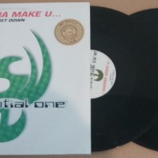 Discos de vinilo: SEQUENTIAL ONE / I WANNA MAKE U... / GET DOWN / MAXI-SINGLE 12 INCH. Lote 182696363