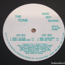 Discos de vinilo: THE TONE / EARLY TO RISE / MAXI-SINGLE 12 INCH. Lote 182696562