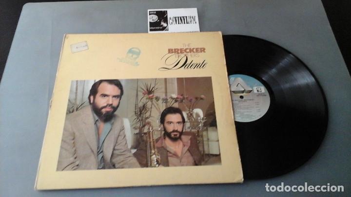 THE BRECKER BROTHERS – DETENTE LP ARISTA – AB 4272 EDICIÓN USA (Música - Discos - LP Vinilo - Jazz, Jazz-Rock, Blues y R&B)