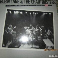 Discos de vinilo: ROBIN LANE & THE CHARTBUSTERS - 5 LIVE MAXI E.P. - 33 R.P.M. - ORIGINAL U.S.A. - WARNER BROS. 1980 -. Lote 182698367
