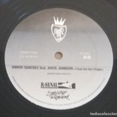 Discos de vinilo: JUNIOR SANCHEZ / THAT GIRL AIN'T RIGHT / MAXI-SINGLE 12 INCH. Lote 182698433