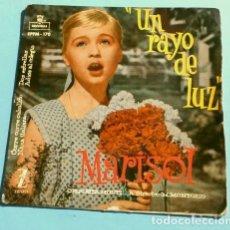 Discos de vinilo: MARISOL (EP. 1960) BSO DEL FILM UN RAYO DE LUZ - CORRE, CORRE CABALLITO - ADIOS AL COLEGIO. Lote 182699361