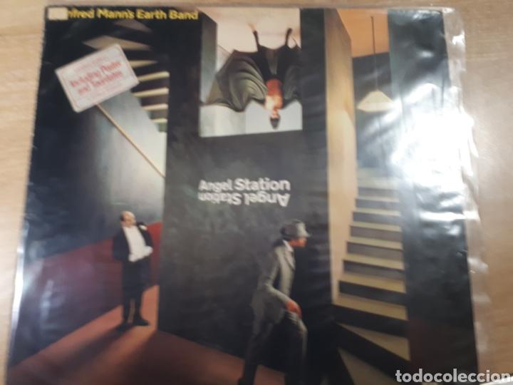 MANFRED MANNS ANGEL STATION (Música - Discos - LP Vinilo - Pop - Rock - Internacional de los 70)
